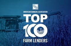 FIRST BANK OF BERNE NAMED AS TOP 100 AGRICULTURAL BANKS BY AMERICAN BANKERS ASSOCIATION