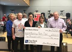 First Bank of Berne partners with Bluffton Parks Department Health and Wellness Series