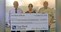 First Bank of Berne is Major Sponsor for Truck Pull and Demo Derby