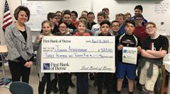 First Bank of Berne Partners with Van Wert Junior Achievement