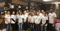 """FIRST BANK OF BERNE GIVES BACK"" - Community Volunteerism Spreads Wide with Local First Bank of Berne Staff"