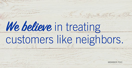 Treating Customers Like Neighbors